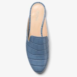 Michael Kors Natasha Slide Mules in Blue 🎉